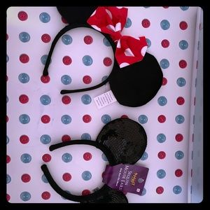 Accessories - Minnie Mouse and Mickey ears